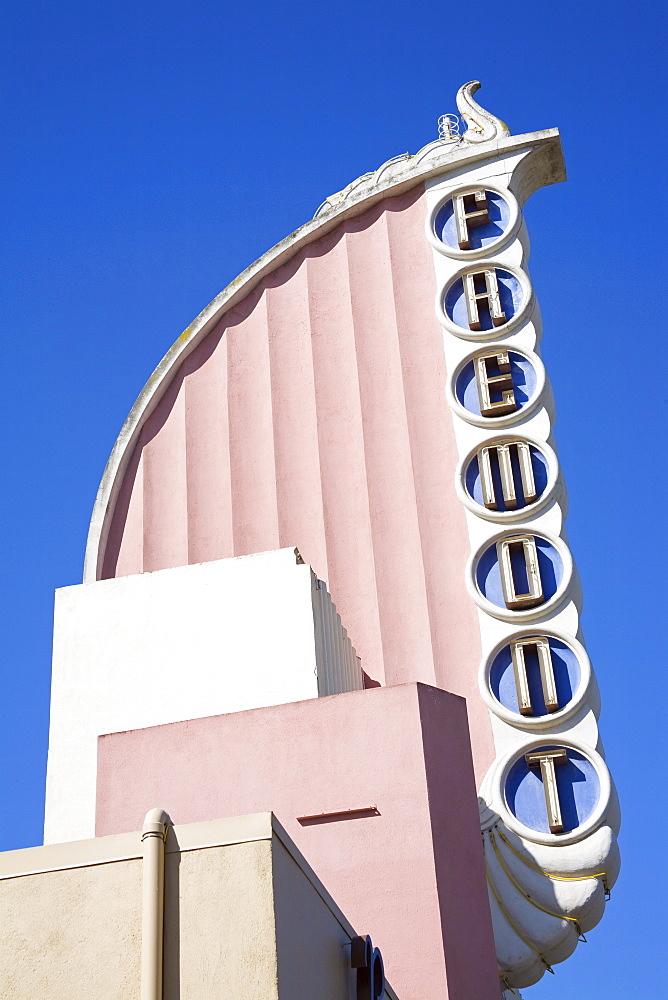 Fremont Art Deco Movie Theater, Monterey Street, San Luis Obispo, California, United States of America, North America