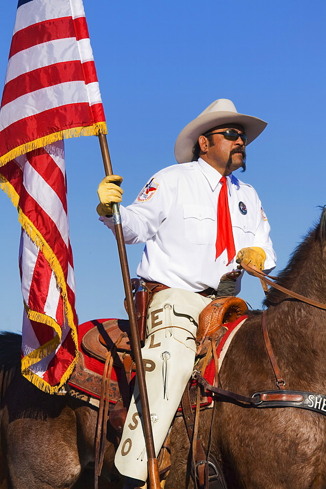 El Paso Sheriff's Posse, Tucson Rodeo Parade, Tucson, Arizona, United States of America, North America