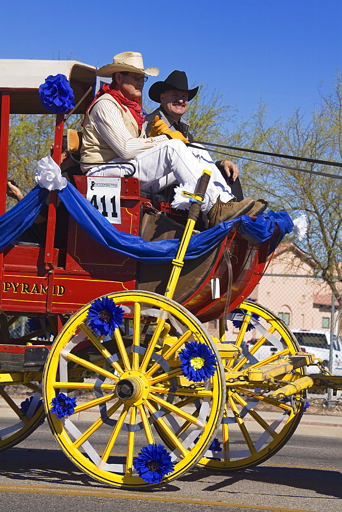 Tucson Rodeo Parade, Tucson, Arizona, United States of America, North America