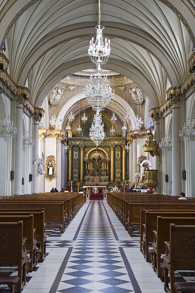 Santo Domingo Convent Church in Lima Centro District, Lima, Peru, South America - 776-2295