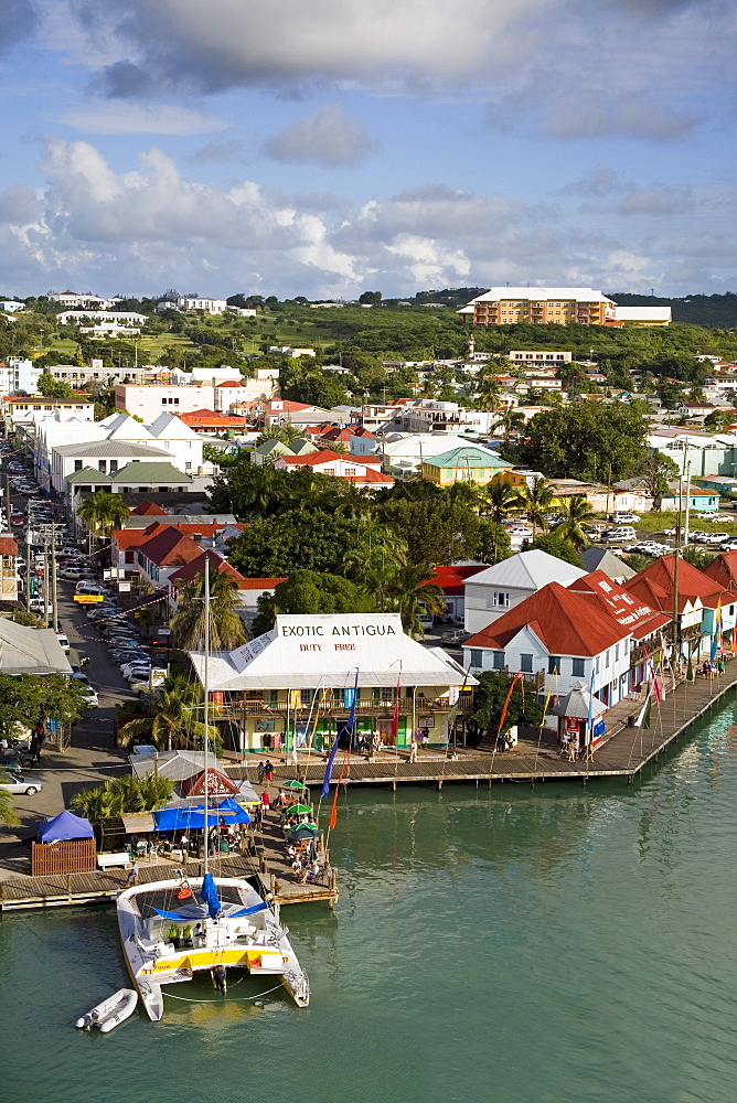 St. Johns waterfront, Antigua Island, Antigua and Barbuda, Leeward Islands, Lesser Antilles, West Indies, Caribbean, Central America