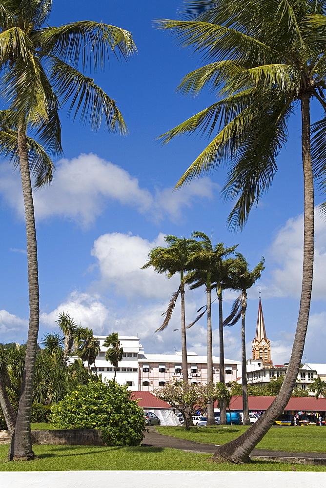La Savane Park, Fort-de-France, Martinique, French Antilles, West Indies, Caribbean, Central America