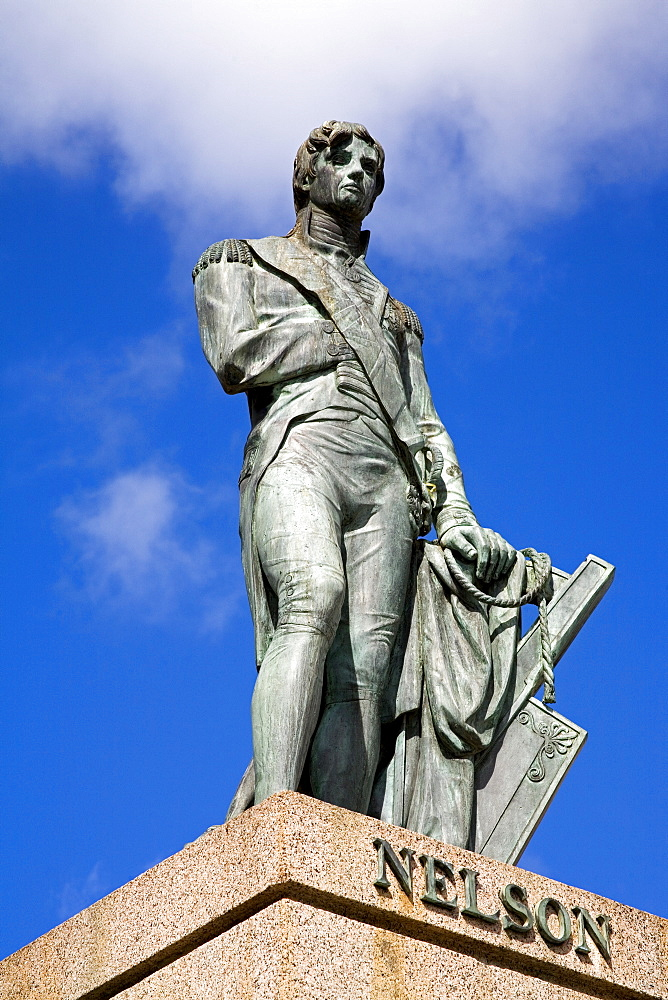 Nelson's Statue, Bridgetown, Barbados, West Indies, Caribbean, Central America