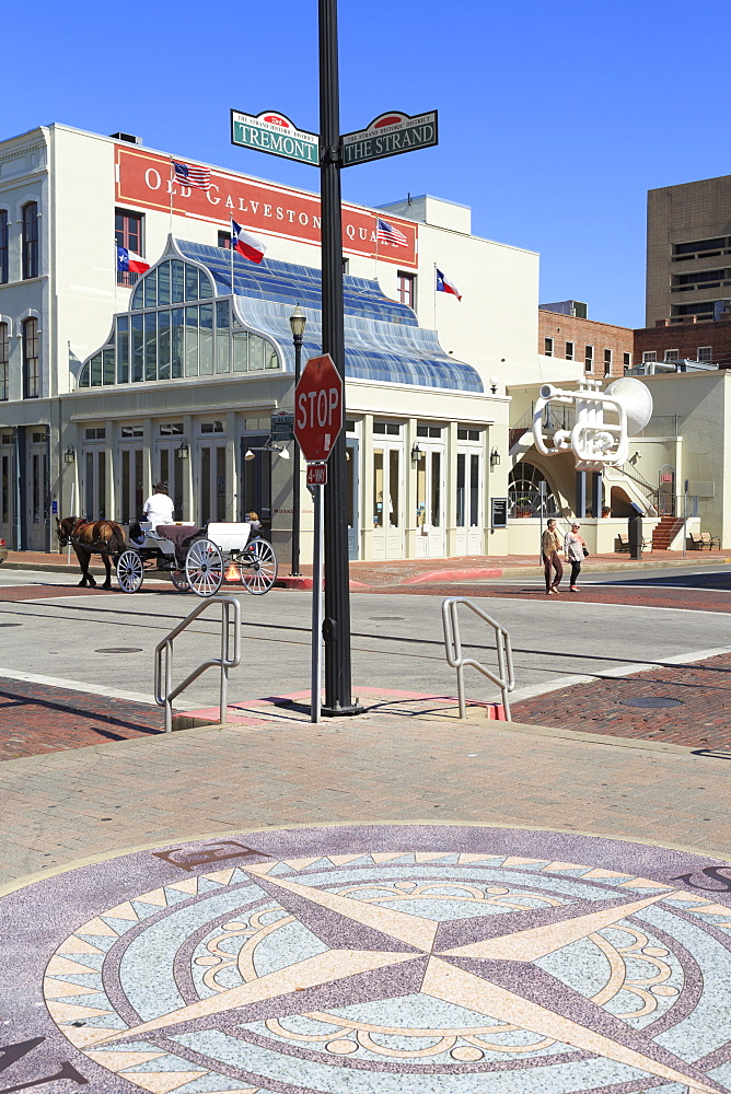Old Galveston Square, Historic Strand District, Galveston, Texas, United States of America, North America