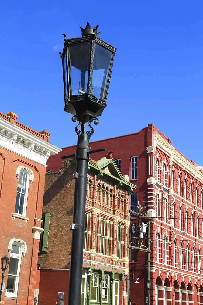 Historic Strand District, Galveston, Texas, United States of America, North America