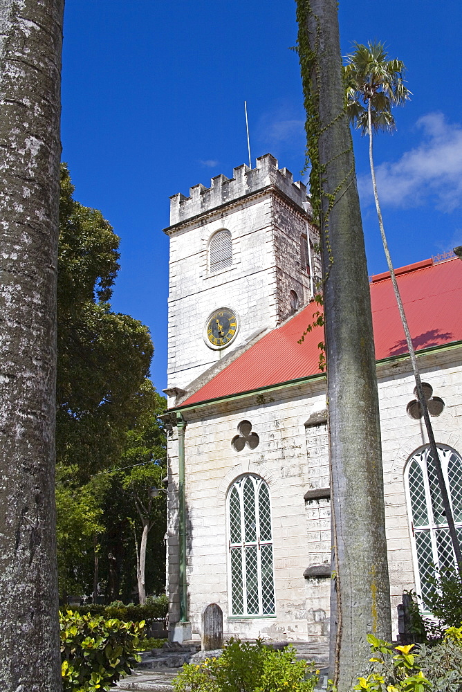 St. Michael's Cathedral, Bridgetown, Barbados, West Indies, Caribbean, Central America