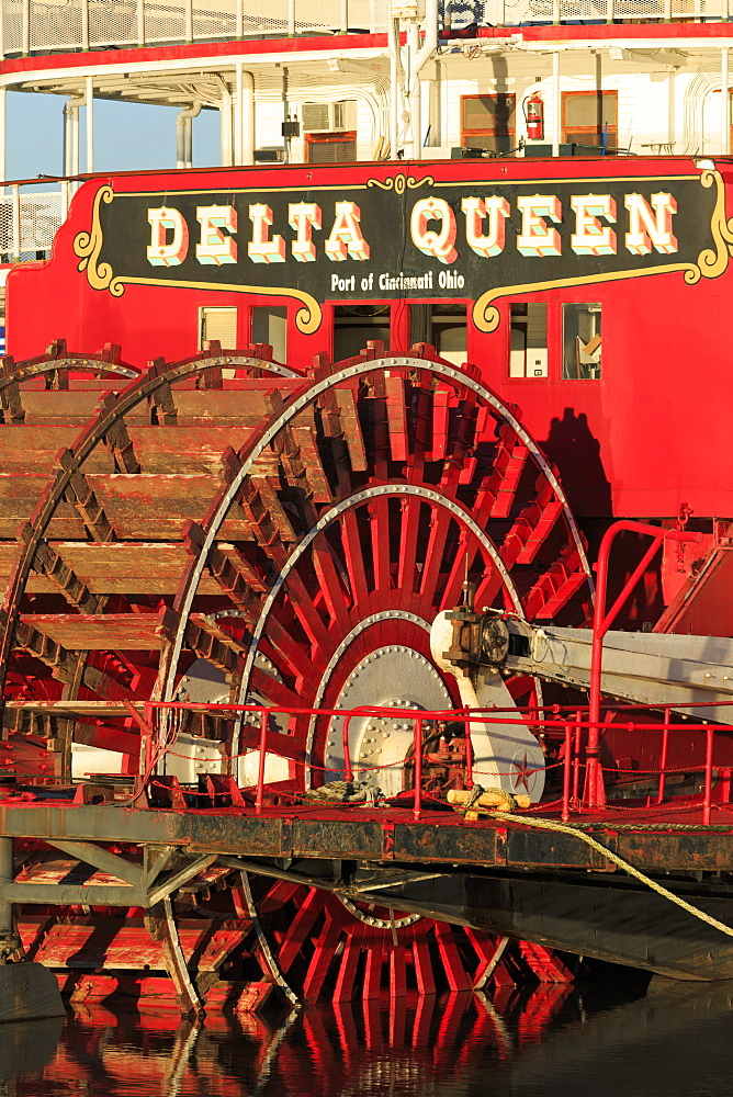 Delta Queen Riverboat, Chattanooga, Tennessee, United States of America, North America
