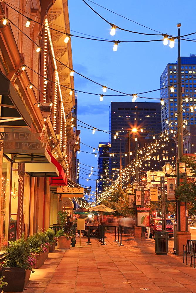Larimer Square, Denver, Colorado, United States of America, North America