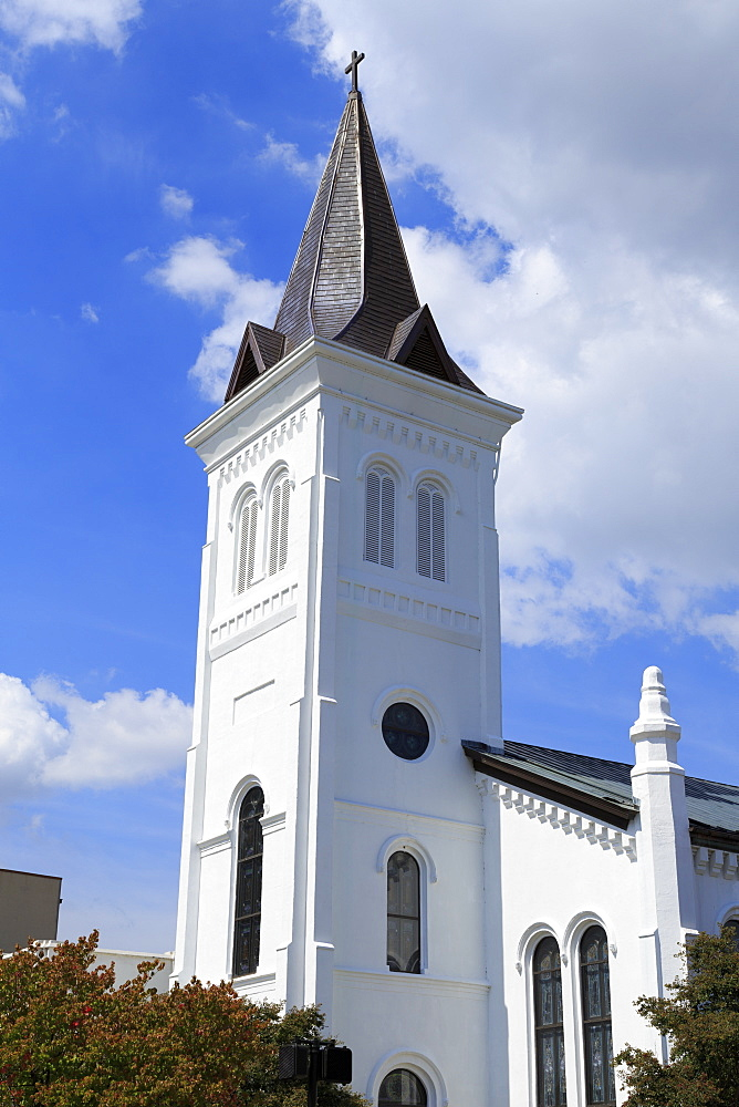 First United Methodist Church, Randolf Avenue, Huntsville, Alabama, United States of America, North America