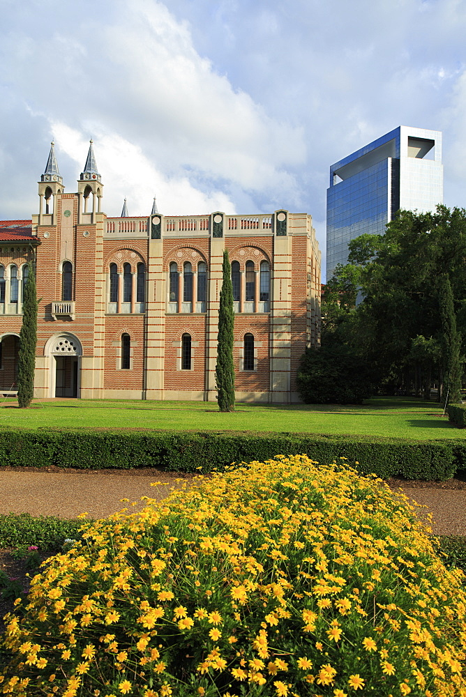 Rice University, Uptown District, Houston, Texas, United States of America, North America