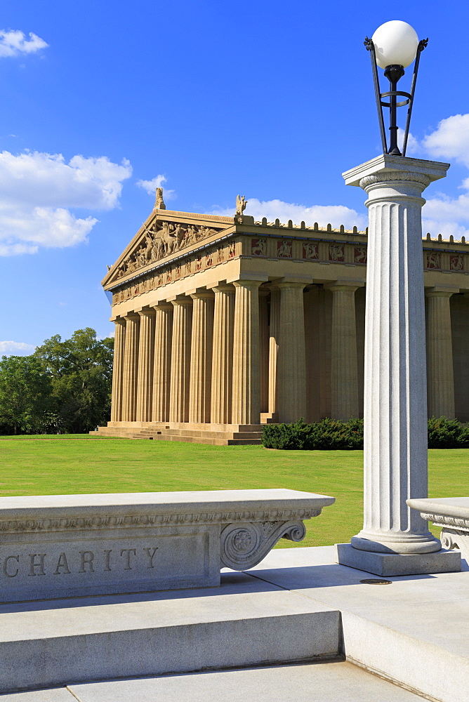Parthenon in Centennial Park, Nashville, Tennessee, United States of America, North America