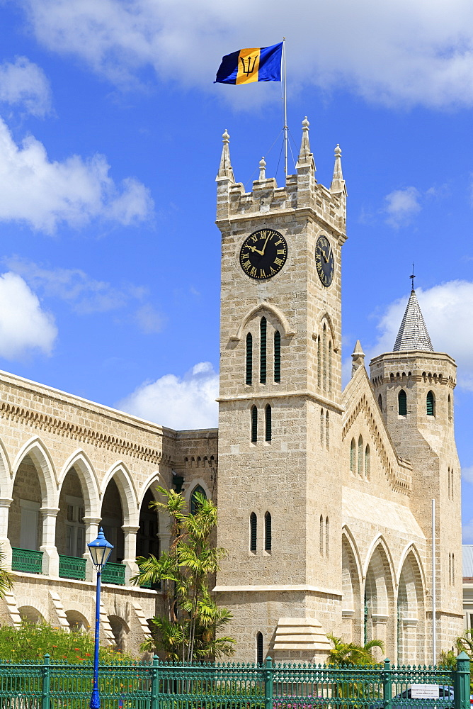 Parliament Building, Bridgetown, Barbados, West Indies, Caribbean, Central America
