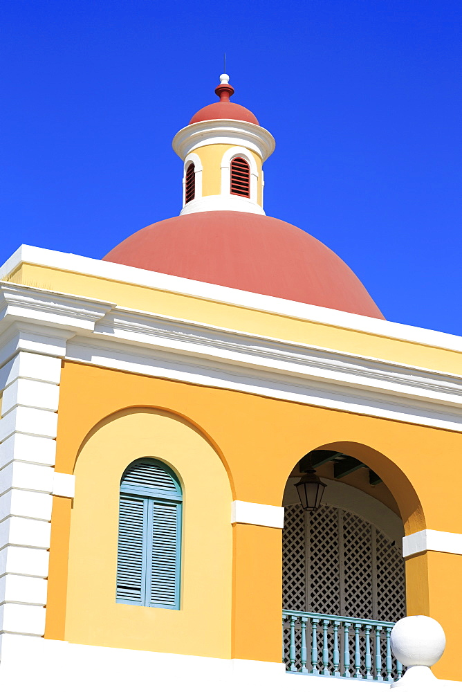 Cultural Institute in Old San Juan, Puerto Rico, West Indies, Caribbean, Central America