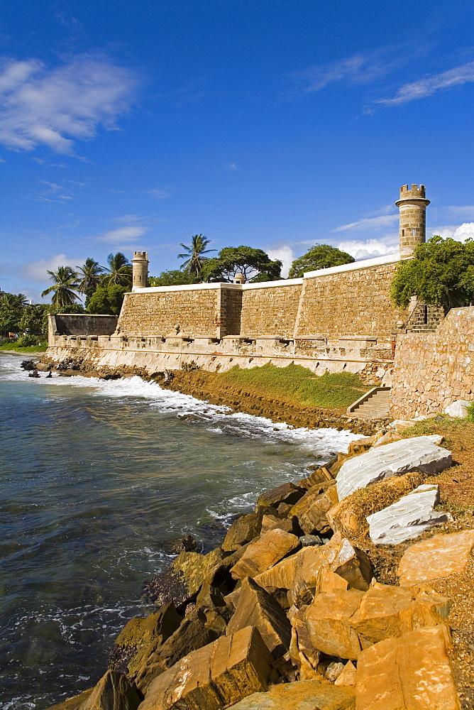 San Carlos de Borromeo Castle, Pampatar City, Isla Margarita, Nueva Esparta State, Venezuela, South America