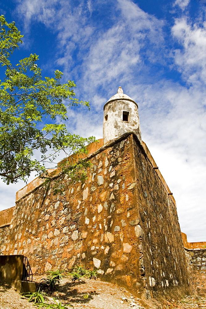 Santa Rosa Fort, La Asuncion City, Isla Margarita, Nueva Esparta State, Venezuela, South America
