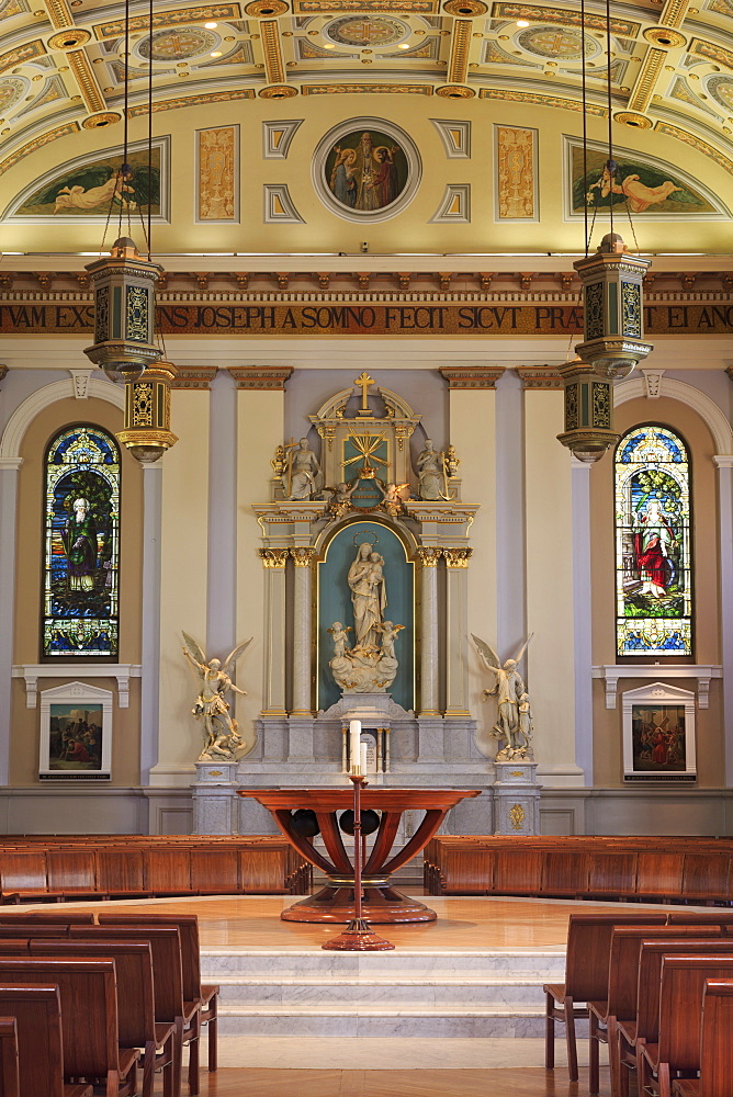 Cathedral Basilica of St. Joseph, San Jose, California, United States of America, North America