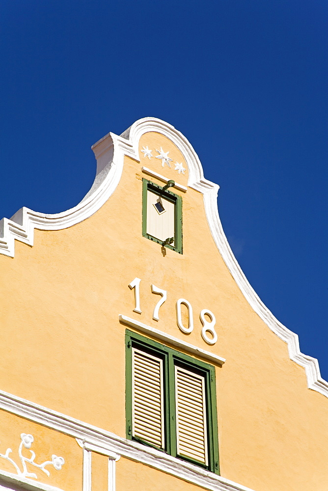 Penha Building, Punda District, Willemstad, Curacao, Netherlands Antillies, West Indies, Caribbean, Central America