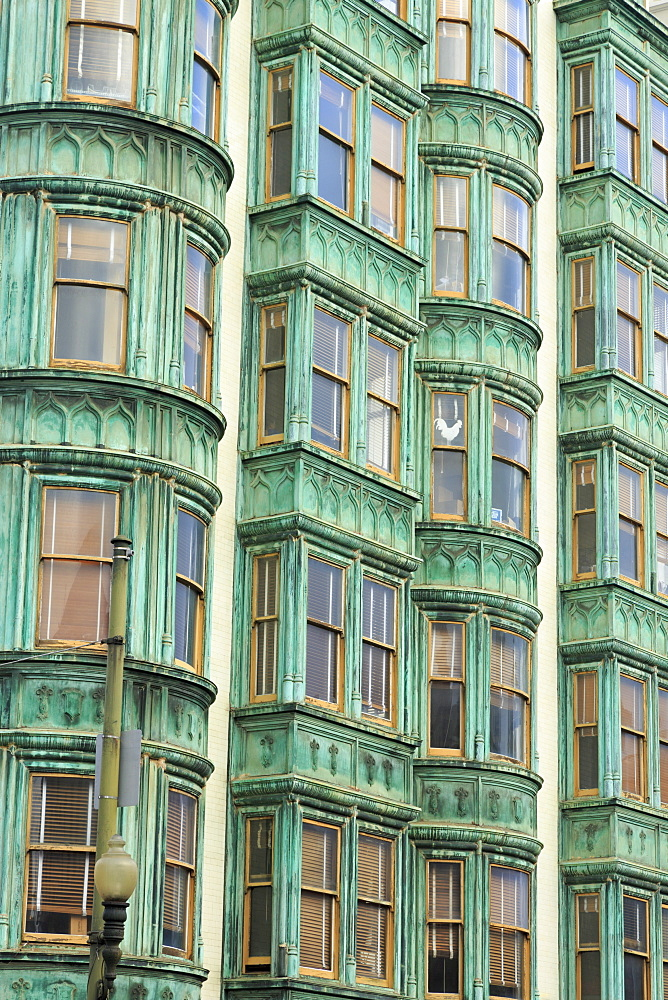 Historic Sentinel Building, Columbus Avenue, San Francisco, California, United States of America, North America