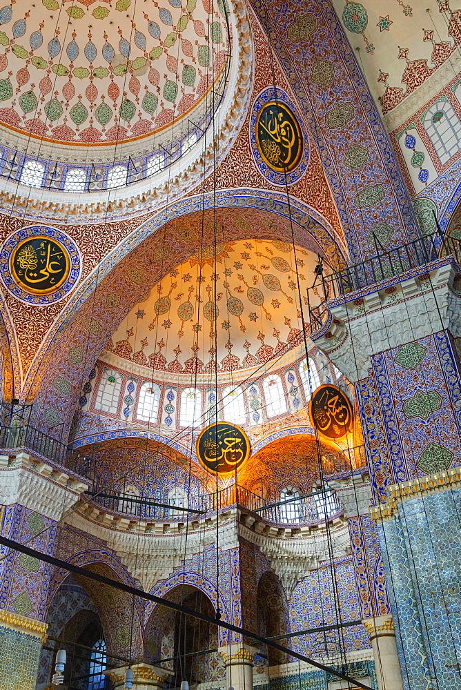 Yeni Mosque, Eminonu and Bazaar District, Istanbul, Turkey, Europe