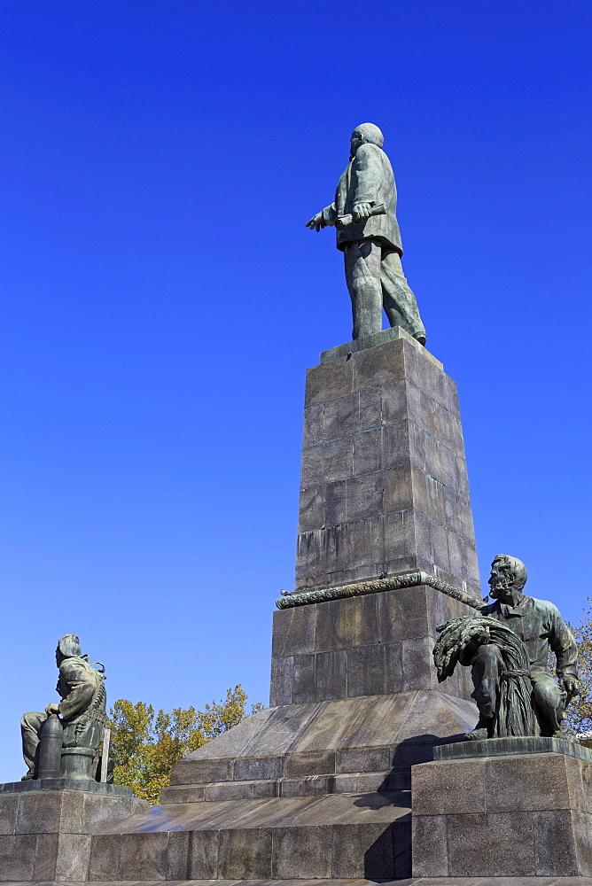 Vladimir Lenin Monument, Sevastopol, Crimea, Ukraine, Europe