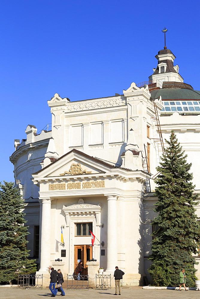 Panorama Museum, Sevastopol, Crimea, Ukraine, Europe