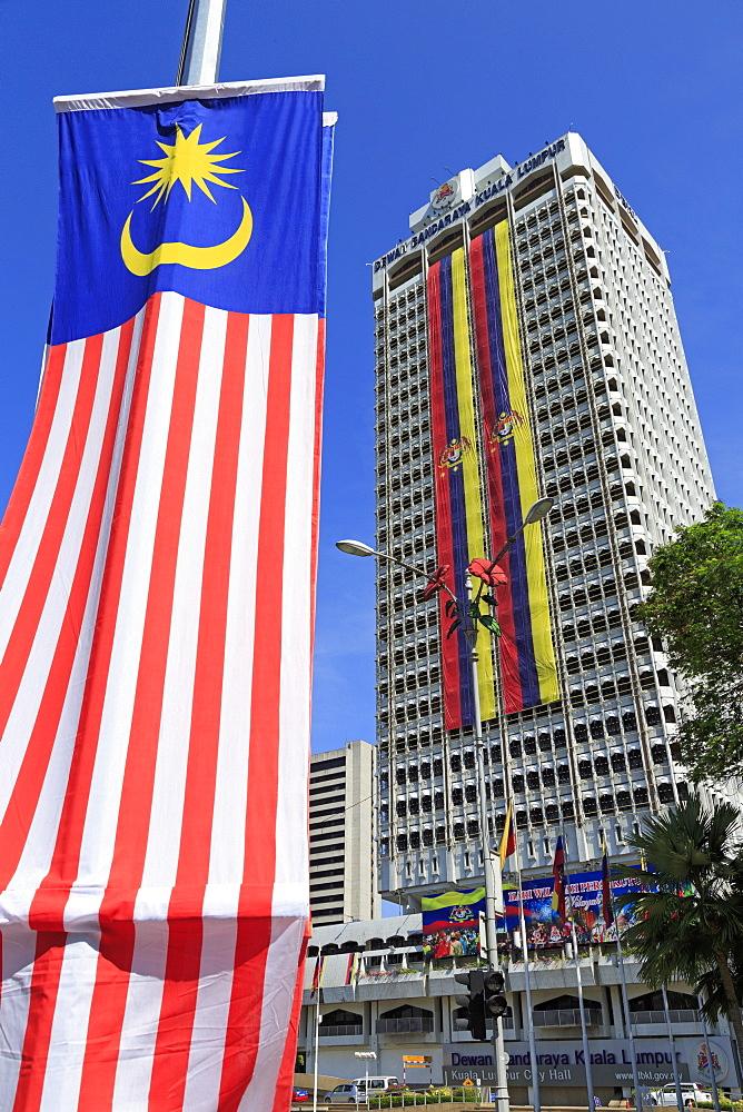 City Hall, Kuala Lumpur, Malaysia, Southeast Asia, Asia