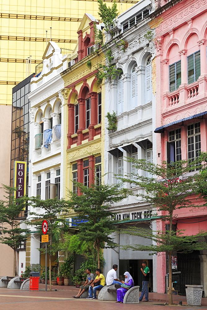 Dutch Gables in Old Market Square, Kuala Lumpur, Malaysia, Southeast Asia, Asia