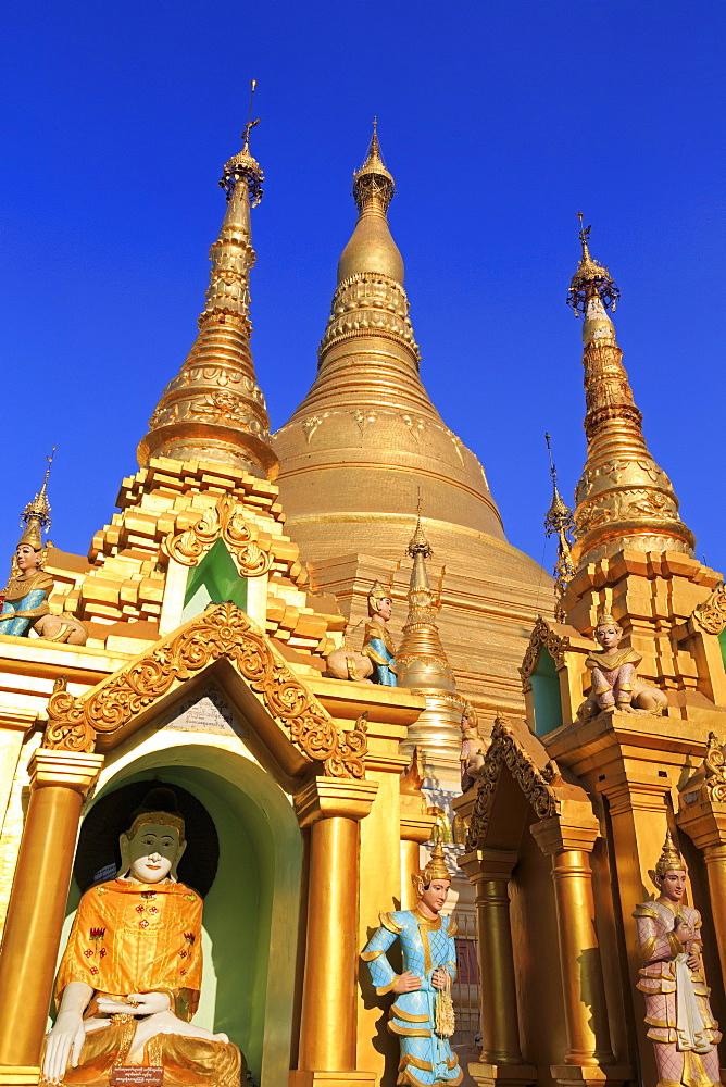 Shwedagon Pagoda, Yangon (Rangoon), Myanmar (Burma), Asia