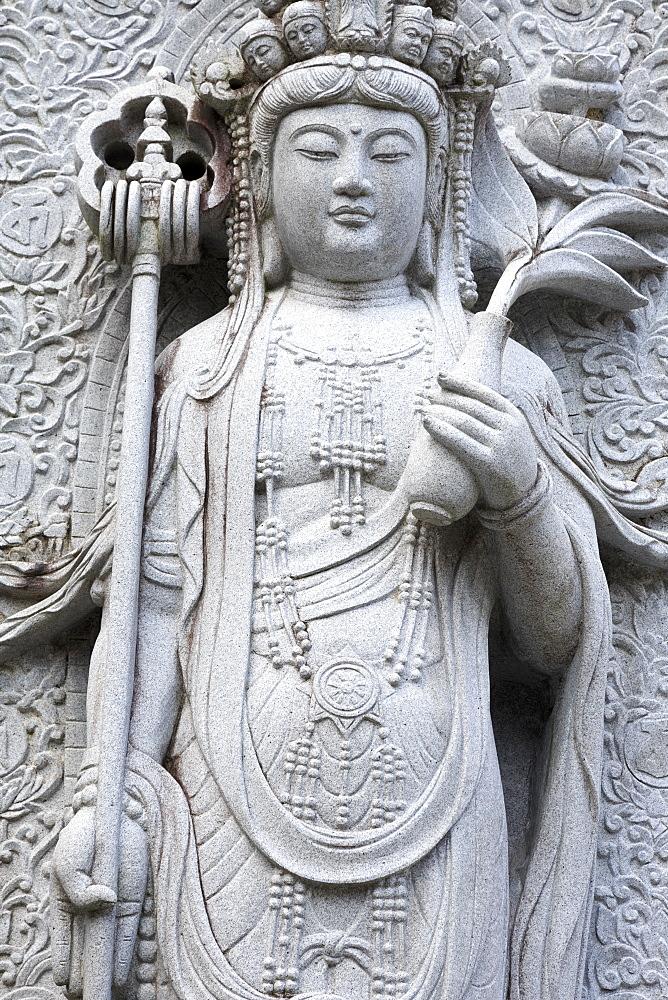 Anraku Temple, Kochi City, Shikoku Island, Japan, Asia