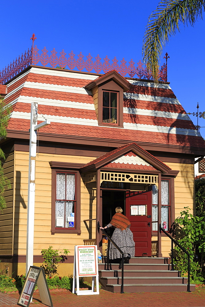Whaley House Museum, Old Town, San Diego, California, United States of America, North America