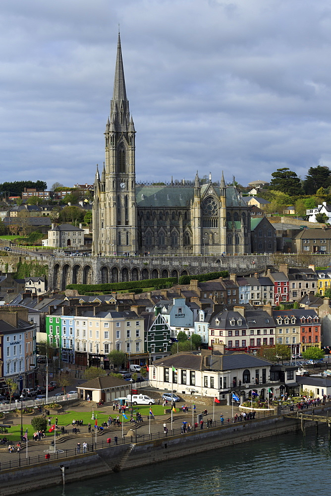 St. Colman's Cathedral, Cobh, County Cork, Munster, Republic of Ireland, Europe - 776-4966