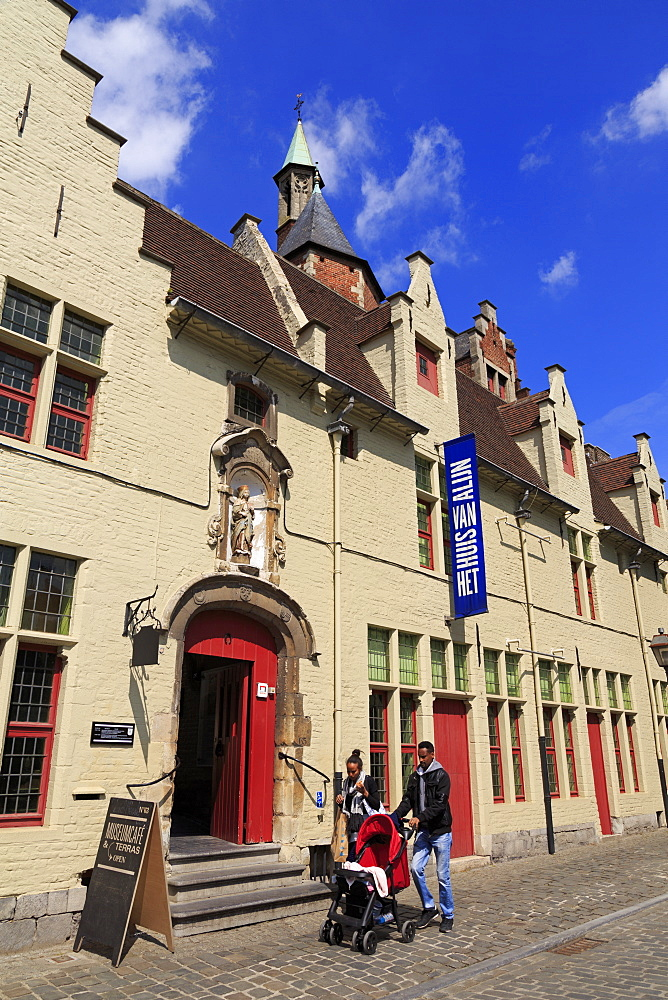 Alijn Museum (Museum of Folklore), Kraanlei Street, Ghent, East Flanders, Belgium, Europe