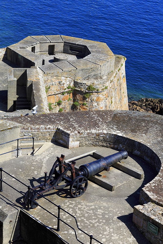 Castle Cornet, St. Peter Port, Guernsey, Channel Islands, Europe - 776-5038