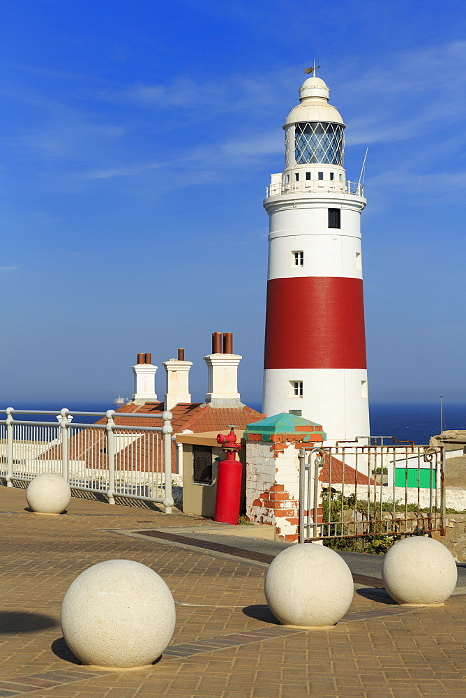 Europa Point Lighthouse, Gibraltar, United Kingdom, Europe