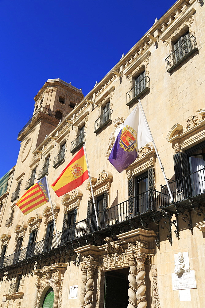 Town Hall, Alicante City, Spain, Europe - 776-5133