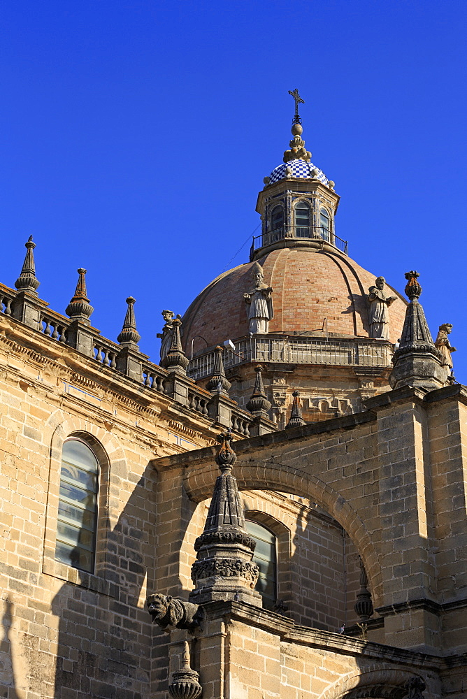 Cathedral, Jerez de la Frontera, Andalusia, Spain, Europe