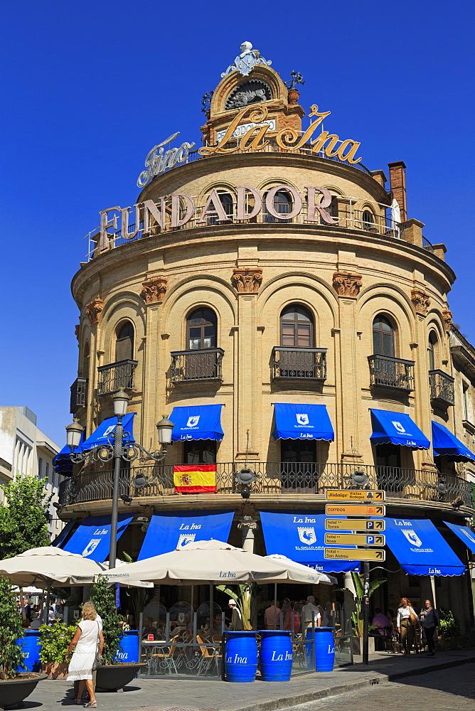 Galle Azul Building, Jerez de la Frontera City, Andalusia, Spain, Europe - 776-5195