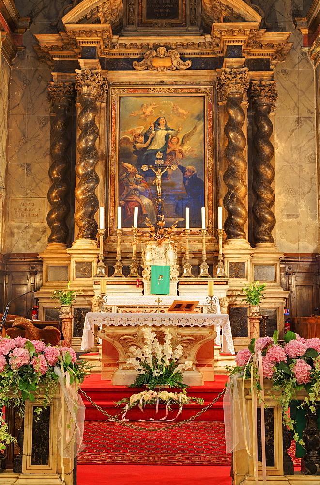 Cathedral, Ajaccio, Corsica Island, France, Mediterranean, Europe