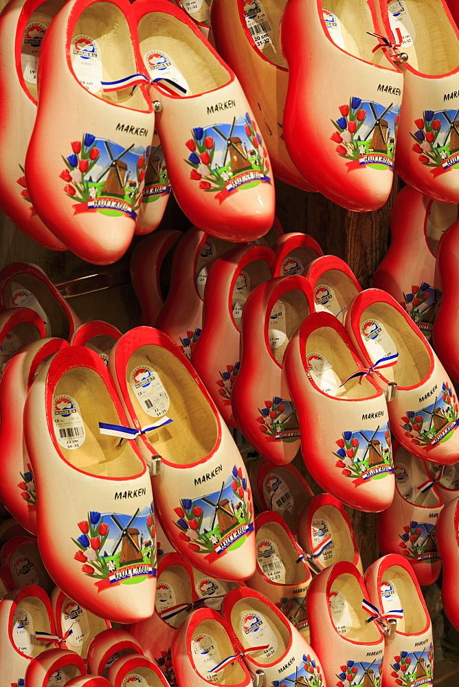 Wooden Shoe Factory, Marken Island, North Holland, Netherlands, Europe