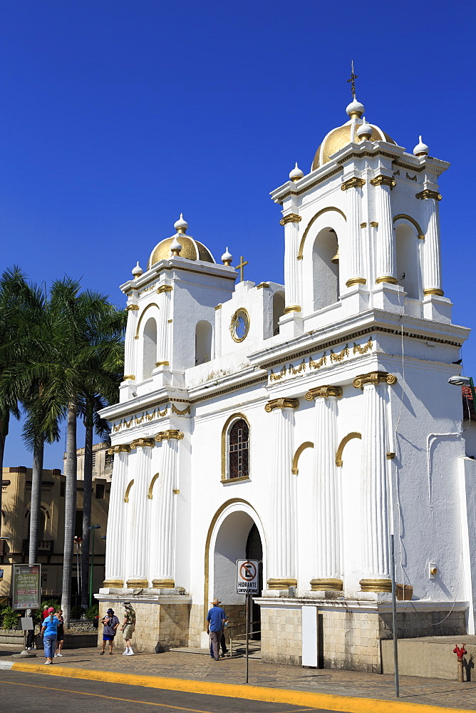 San Agustin Church, Main Square, Tapachula City, State of Chiapas, Mexico, North America