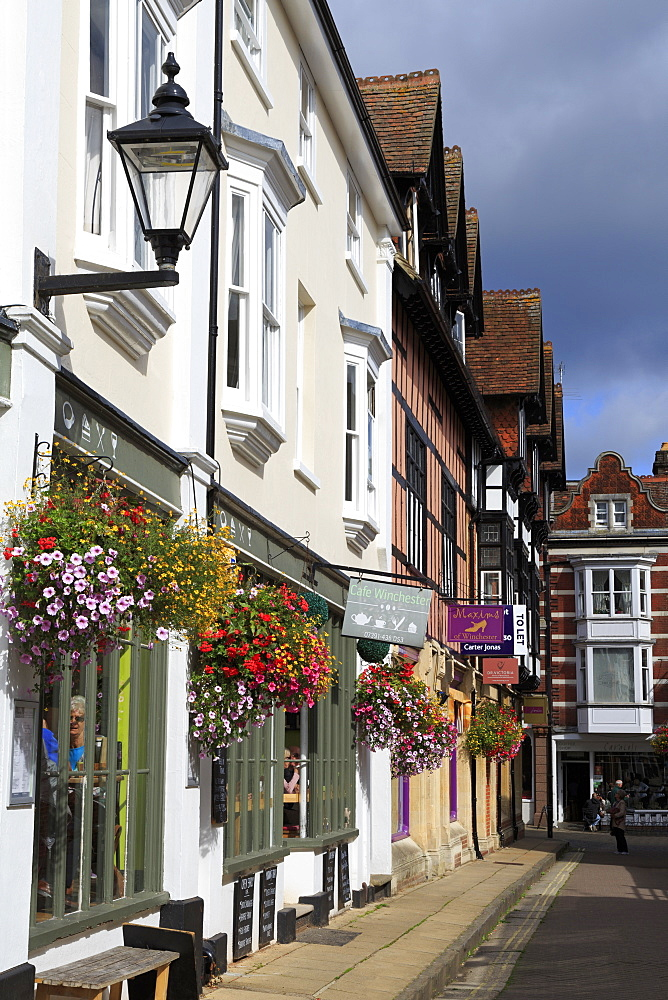 St. Thomas Street, Winchester, Hampshire, England, United Kingdom - 776-5523