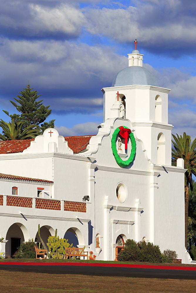 San Luis Rey Mission, Oceanside City, San Diego County, California, USA - 776-5565
