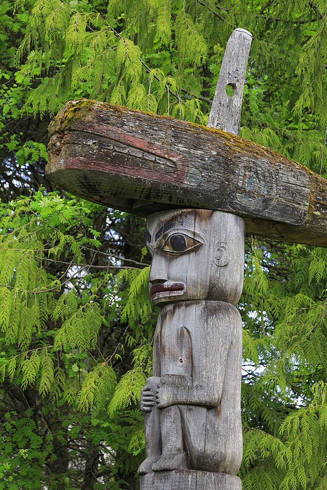 Totem Park, Wrangel, Alaska, United States of America, North America