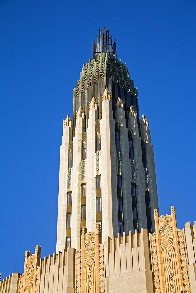 The Boston Avenue Art Deco Church, Downtown Tulsa, Oklahoma, United States of America, North America