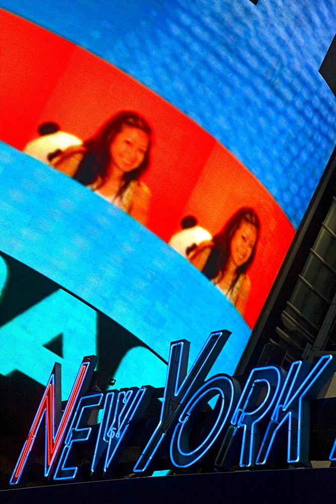Times Square, Midtown Manhattan, New York City, New York, United States of America, North America - 776-674