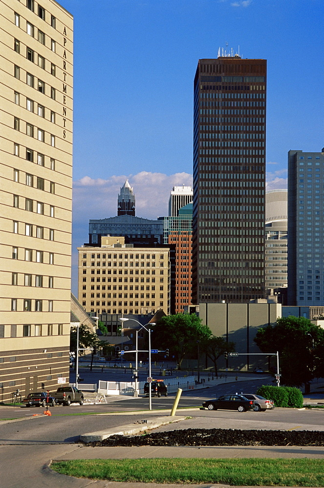 Skyline, Des Moines, Iowa, United States of America, North America