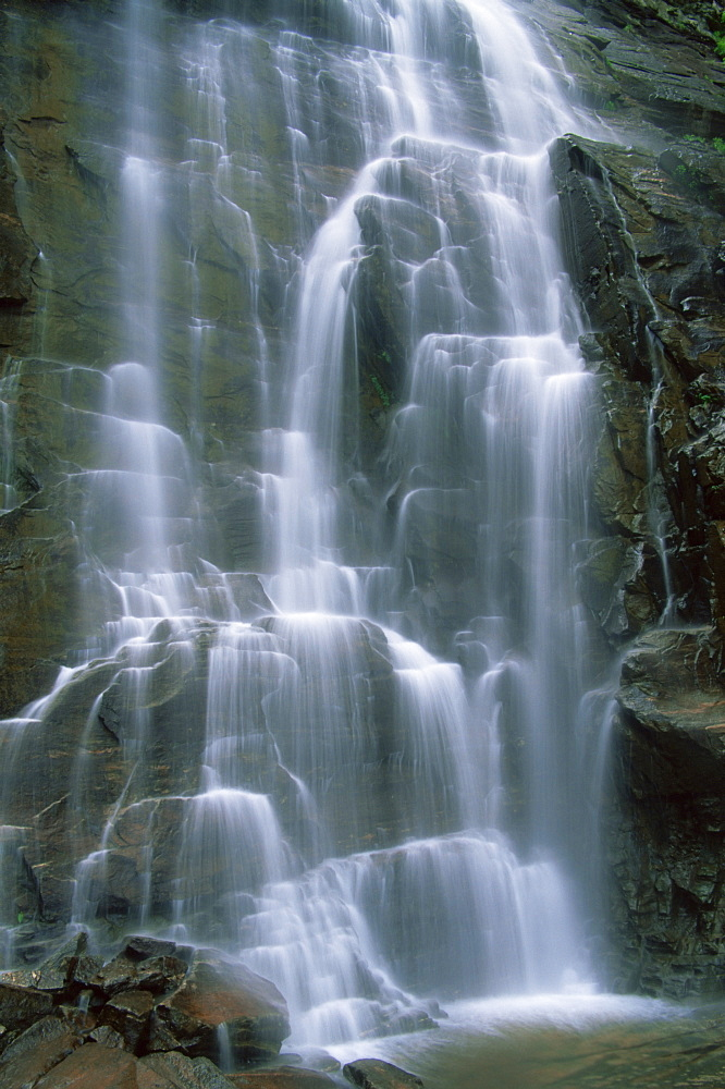 Hickory Nut Falls, Chimney Rock Park, Asheville, North Carolina, United States of America, North America