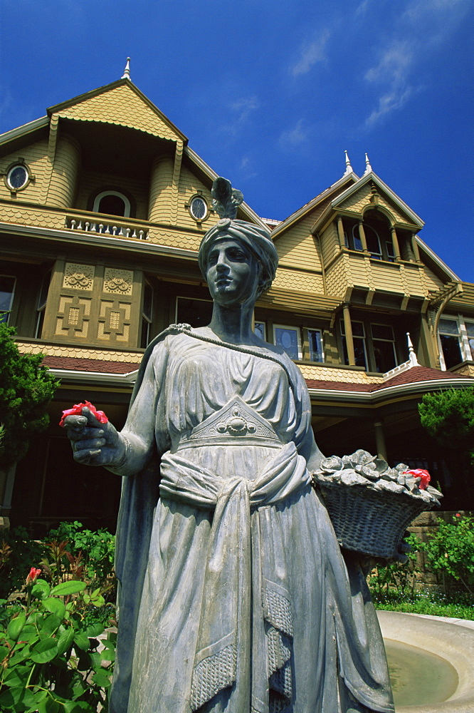 Winchester Mystery House, San Jose, California, United States of America, North America