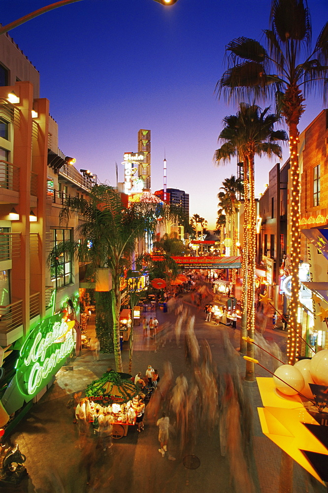 Citywalk, Universal Studios, Hollywood, Los Angeles, California, United States of America, North America
