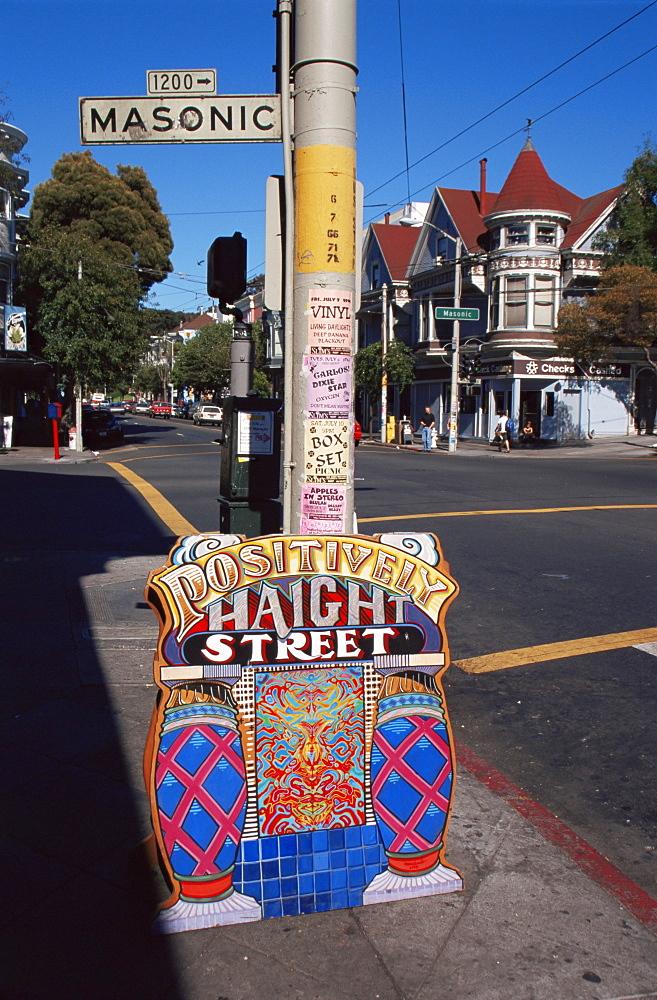 Street scene, Haight-Ashbury District, San Francisco, California, United States of America, North America